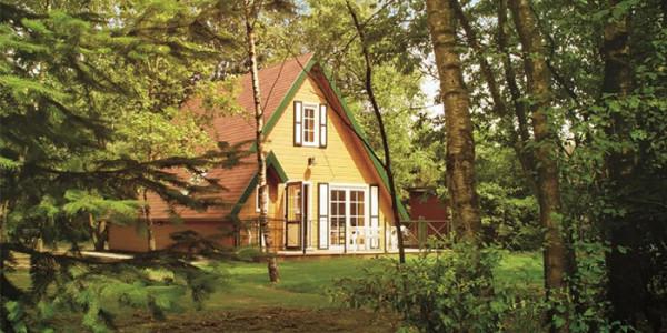 Bungalow Verdo op park Molenheide is voor 6 personen. vakantiesvoorgrotegezinnen.nl