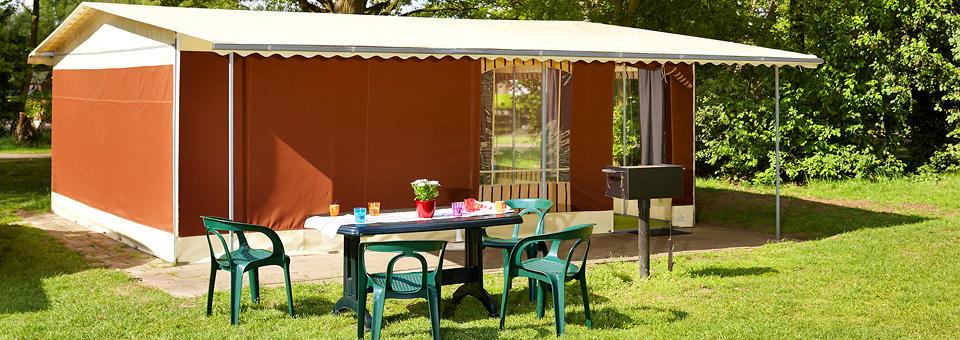 Luxe tent met badkamer - Tent voor terras ...