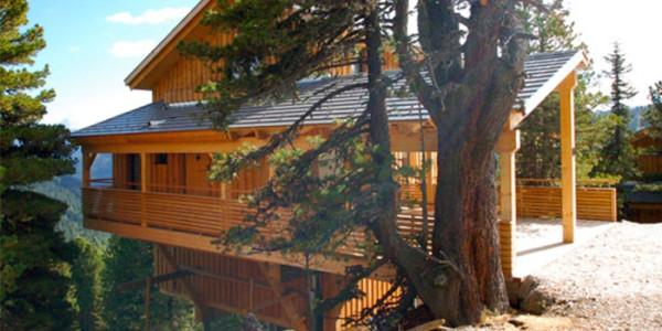 Luxe houten chalet in oostenrijk voor 11 personenvakanties for Chalet te koop oostenrijk tirol