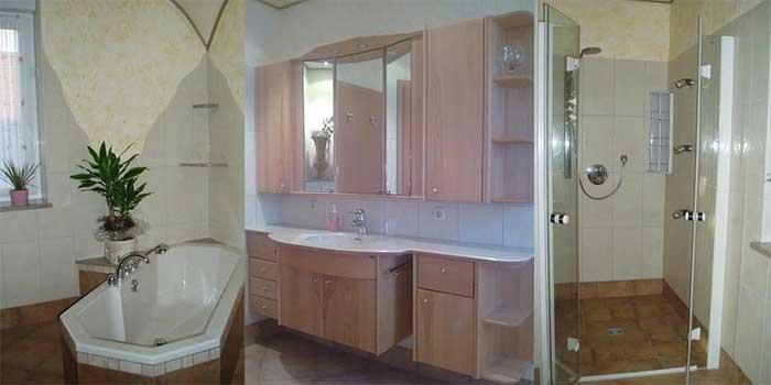 Vakantiehuis voor 8 personen in duitsland met omheinde tuinvakanties voor grote gezinnen - Een wasruimte voorzien ...
