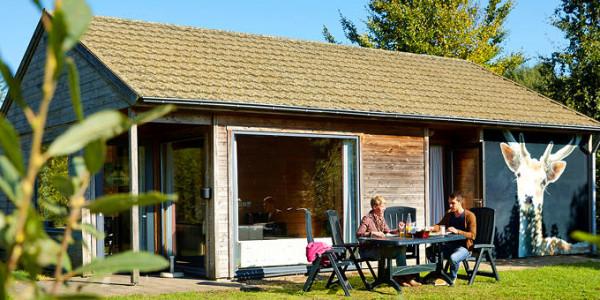 Vakantiehuis op Vakantiepark Dierenbos in Luxe bungalow Damhert voor zes personen. vakantiesvoorgrotegezinnen.nl