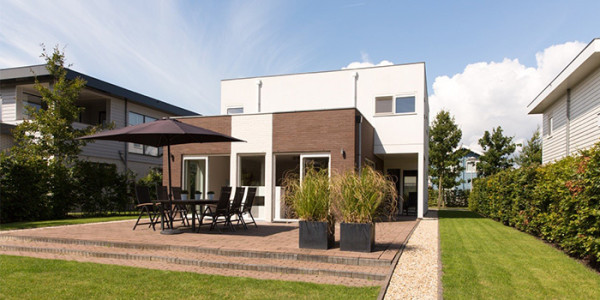 Vakantievilla 218 op golfresort Harderwold, voor grote gezinnen met 8 personen, met eigen sauna. vakantiesvoorgrotegezinnen.nl
