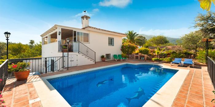 Prachtig vakantiehuis met zwembad in spanjevakanties voor for Grote villa