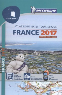 Mini michelin atlas Frankrijk 2017