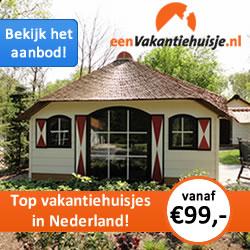 Eenvakantiehuisje.nl vakantiehuizen in Nederland en Spanje