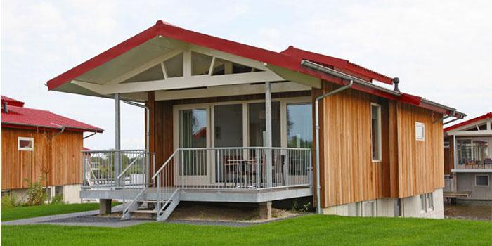 Luxe vrijstaande vakantiewoning voor grote gezinnen met 8 personen