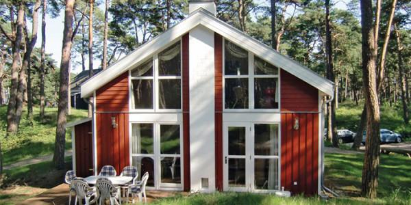 Vrijstaand vakantiehuis aan de Oostzee in Duitsland, voor grote gezinnen met 6 personen.