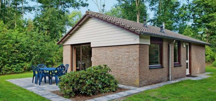 Vrijstaand vakantiehuis voor 6 personen op vakantiepark Westerbergen in Drenthe