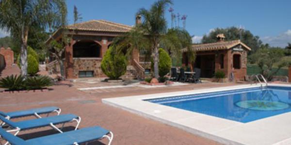 Vrijstaande La Granja de Antonio Privada voor zes personen met zwembad in Spanje vakantiesvoorgrotegezinnen