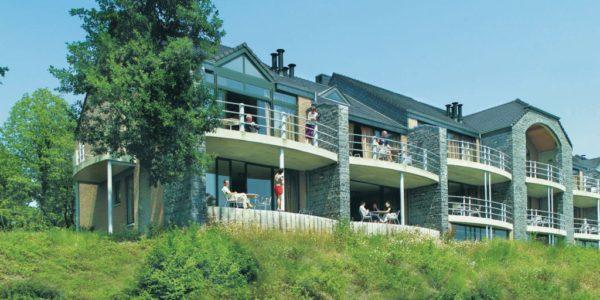 Appartement voor grote gezinnen met 6 personen op golfbaan in de Ardennen in Belgie