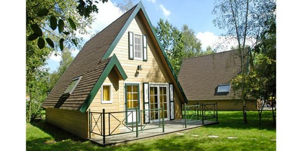 Een zespersoons bungalow type Agora op Park Molenheide in België. vakantiesvoorgrotegezinnen.nl
