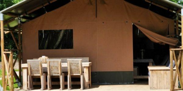 Luxe Safaritent voor 8 personen in Frankrijk