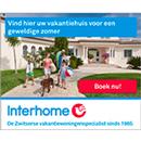 Interhome vakantiehuizen in Europa