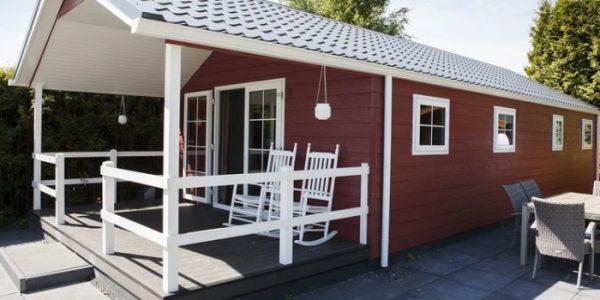 Luxe houten vakantiehuis voor 6 personen op de Veluwe
