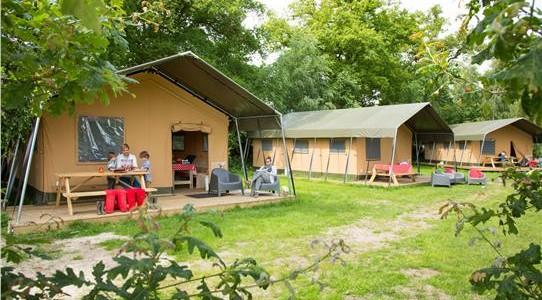 Luxe Safaritent voor glamping in Overijssel, bij boerderij De Boderie in Albergen. Voor zes personen. vakantiesvoorgrotegezinnen.nl
