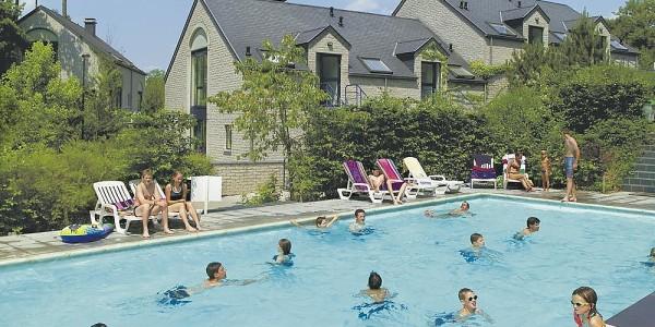 Appartement voor grote gezinnen met 6 personen op Bungalowpark Residence Durbuy in de Belgische Ardennen. vakantiesvoorgrotegezinnen.nl