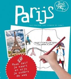Draw your map Parijs met kinderen