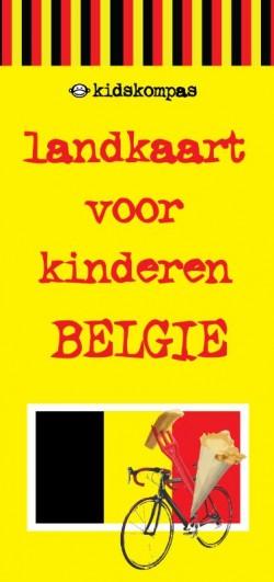 Landkaart voor kinderen België